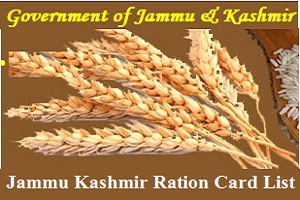 Jammu Kashmir Ration Card List