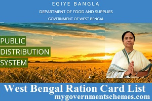 West Bengal Ration Card List
