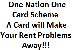 One Nation One Card Scheme