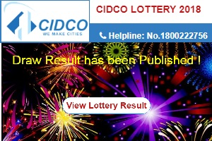 CIDCO Housing Lottery 2018 Draw Results